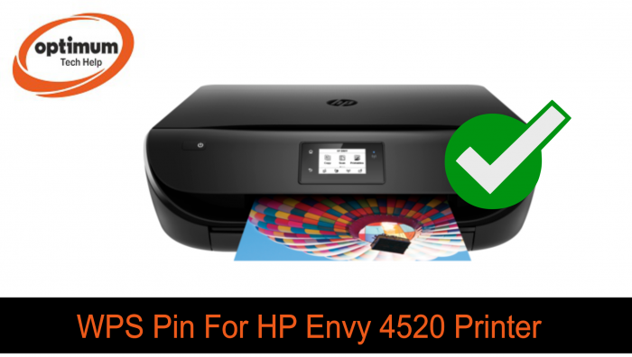 wps pin for hp envy 4520