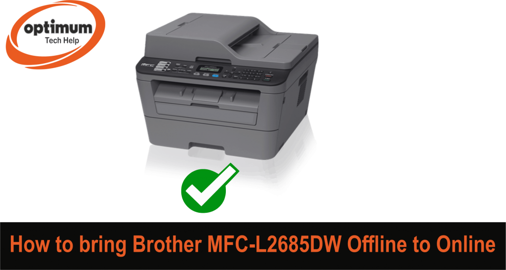 Brother MFC L2685DW Offline