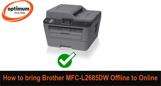 Brother MFC L2685DW Offline