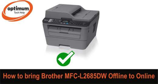 brother mfc l2700dw offline