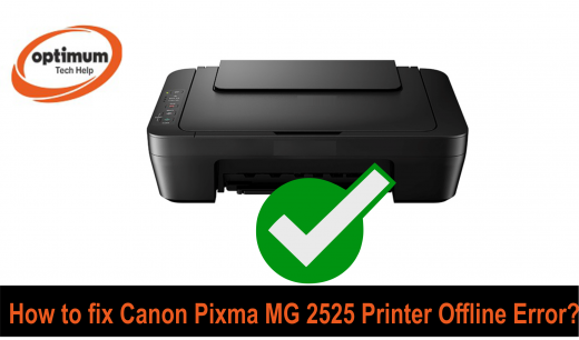 canon pixma mg 2525 printer offline