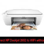 Connect HP Deskjet 2652 to wifi