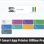 hp smart printer offline