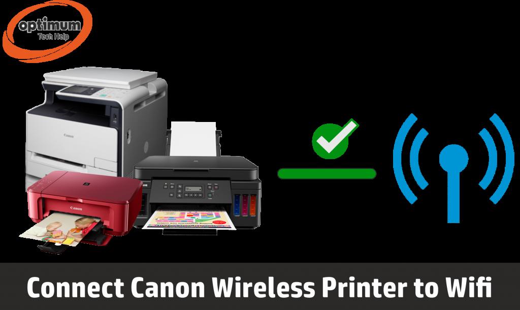 connect canon printer to wifi
